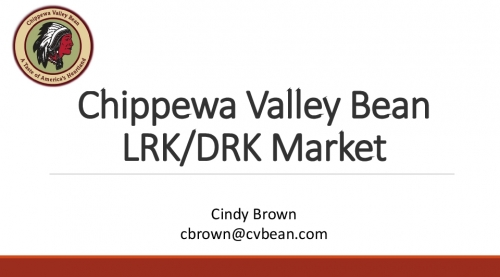 Chippewa Valley Bean LRK/DRK Market preview